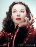 Hedy Lamarr 1940's by xxwildestheartxx