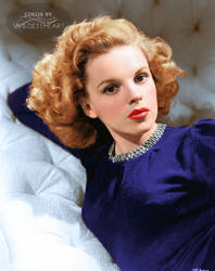 Judy Garland 1943 by xxwildestheartxx