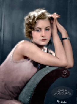 Greta Garbo photographed by Alexander Binder 1925