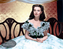 Vivien Leigh in Gone With The Wind 1939