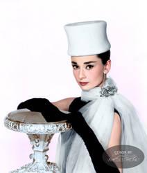 Audrey Hepburn in Funny Face 1957