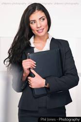 Corporate Businesswoman by PhilJonesPhotography