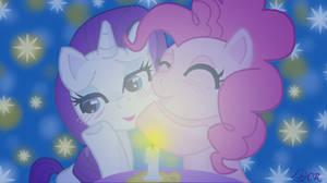 Rarity and Pinkie Pie