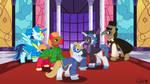 Masquerade Stallions by ladypixelheart