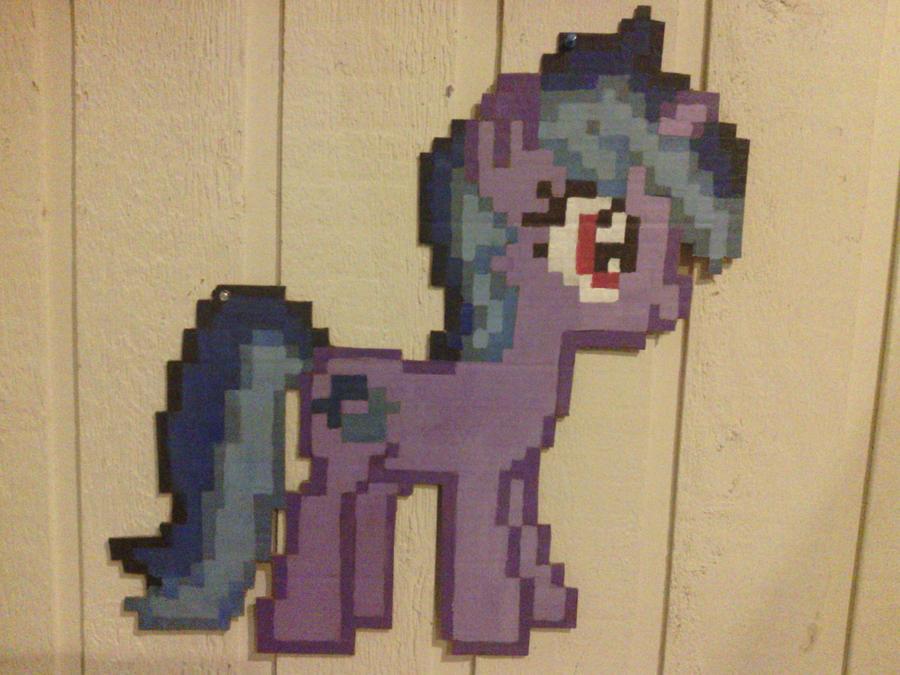 8-bit Sea Swirl Wall Decor by ladypixelheart on DeviantArt