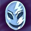 Lightning Mask Icon commission by ladypixelheart