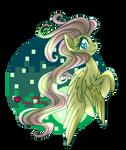 Pixel Pony: Fluttershy
