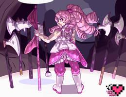 A battle-worn Rose by ladypixelheart
