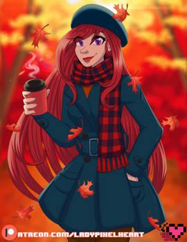 Flissa's Autumn stroll [COMM]