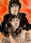 John and Paul by WilliamFeuer