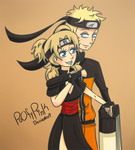 Commission: Naruto And Temari