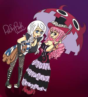 Commission:Mai Mirror And Perona