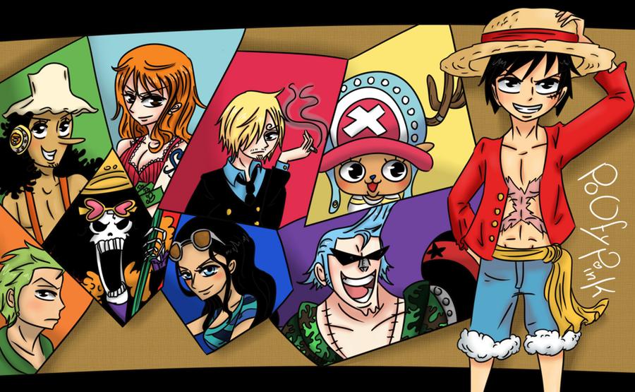 One Piece Crew by PoOfyPink on DeviantArt