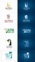 alpha travel logo