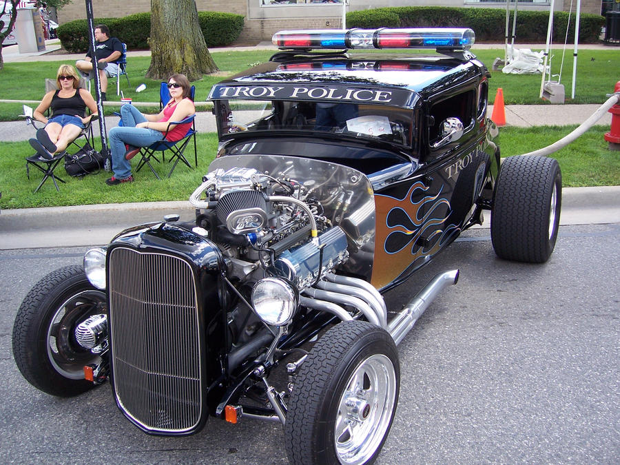 Hot rod Patrol car by DetroitDemigod on DeviantArt