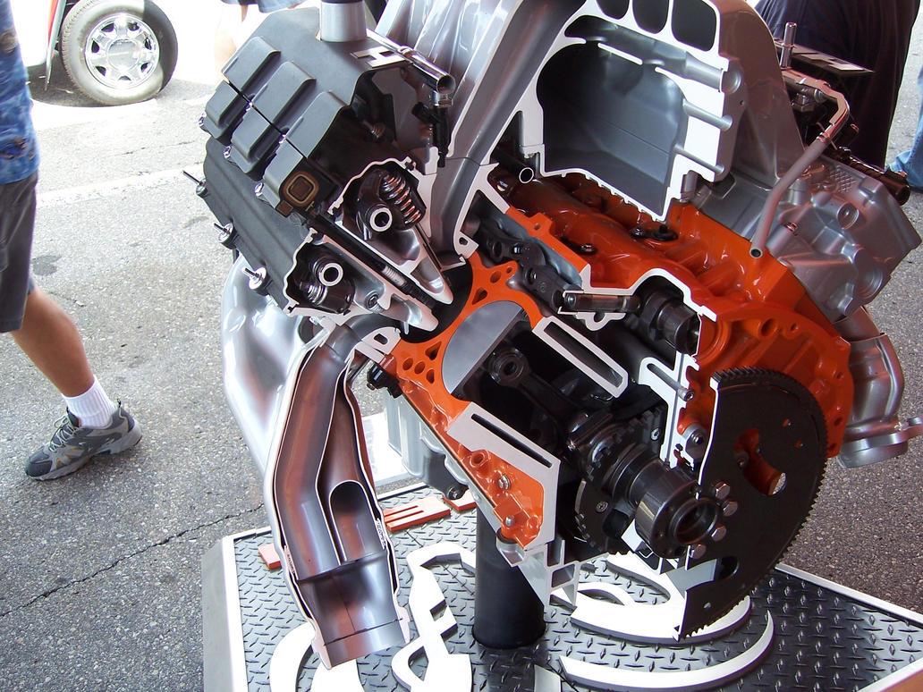 5 7 Liter Hemi Engine By Detroitdemigod On Deviantart