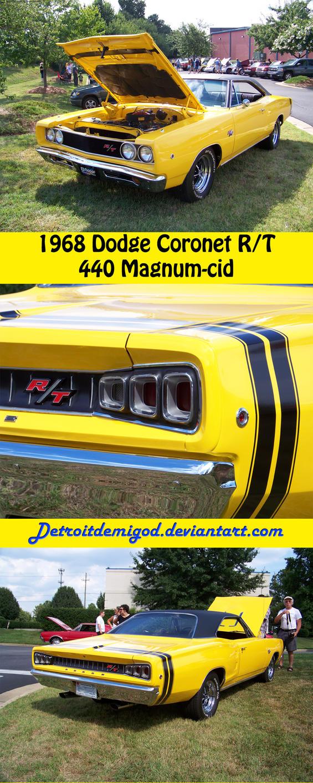 68 Rt Charger: '68 Coronet RT_Sheet By DetroitDemigod
