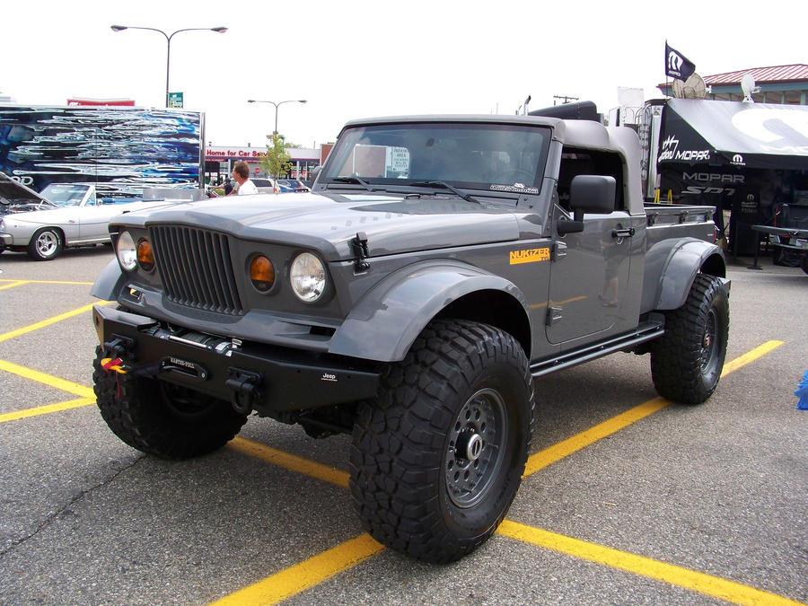 Jeep nukizer 715 for sale