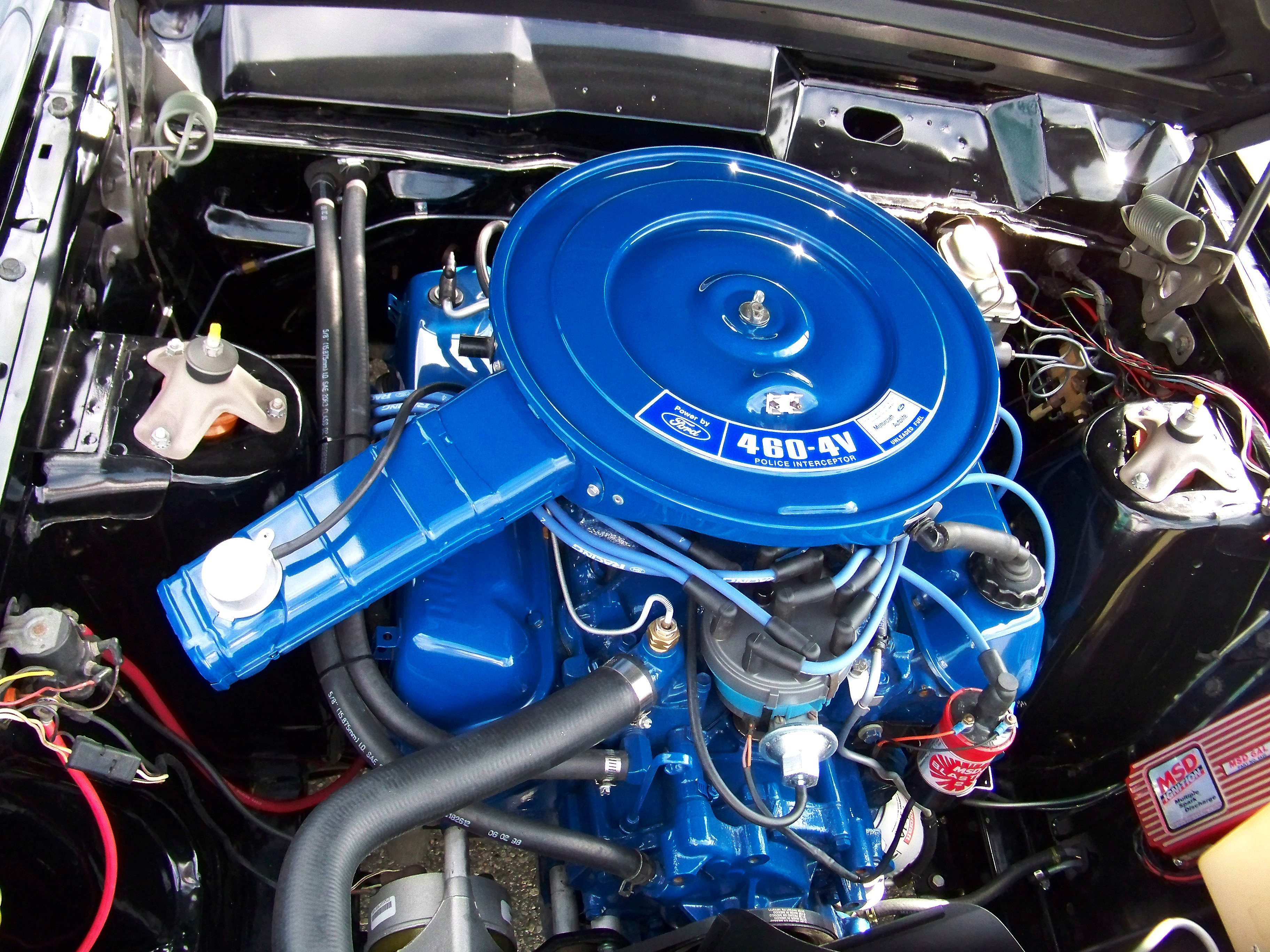Ford 460 Police Interceptor Ford Engines Pinterest