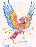 Fire Bird by SpottedNymph