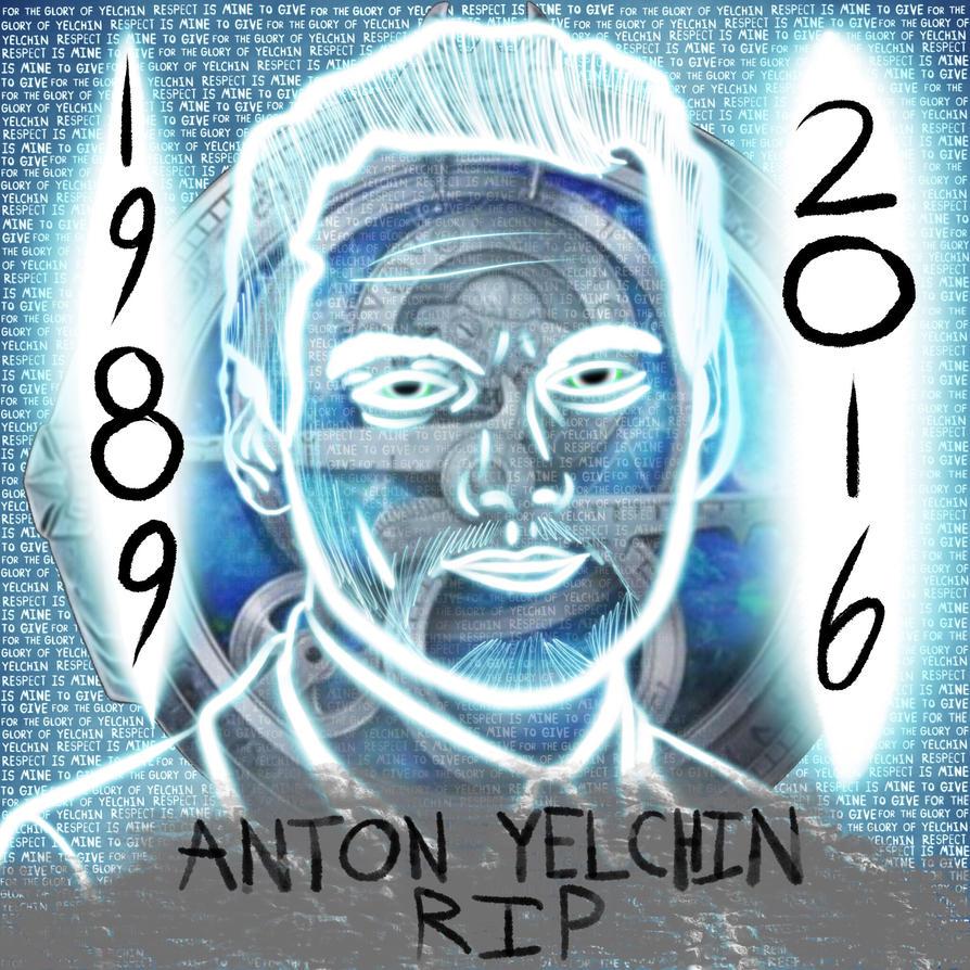 RIP Anton Yelchin by CashWolf14