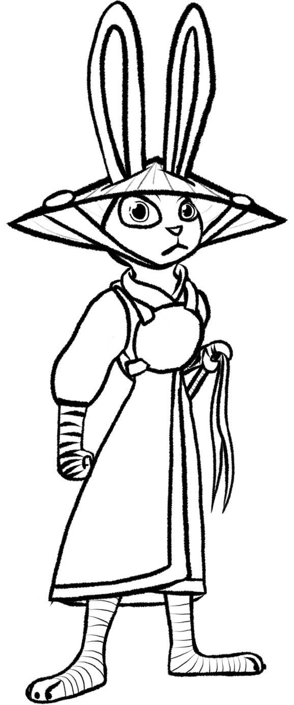 Judy the Samurai  by CashWolf14