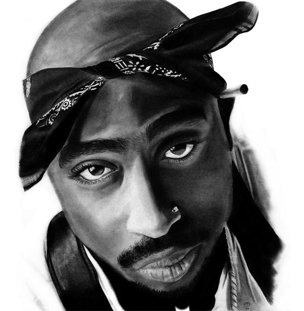 Tupac by JohnJohn-the-Baptist