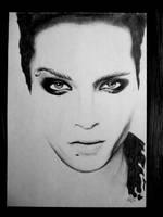 Bill Kaulitz - Darkness by SoffiProppi