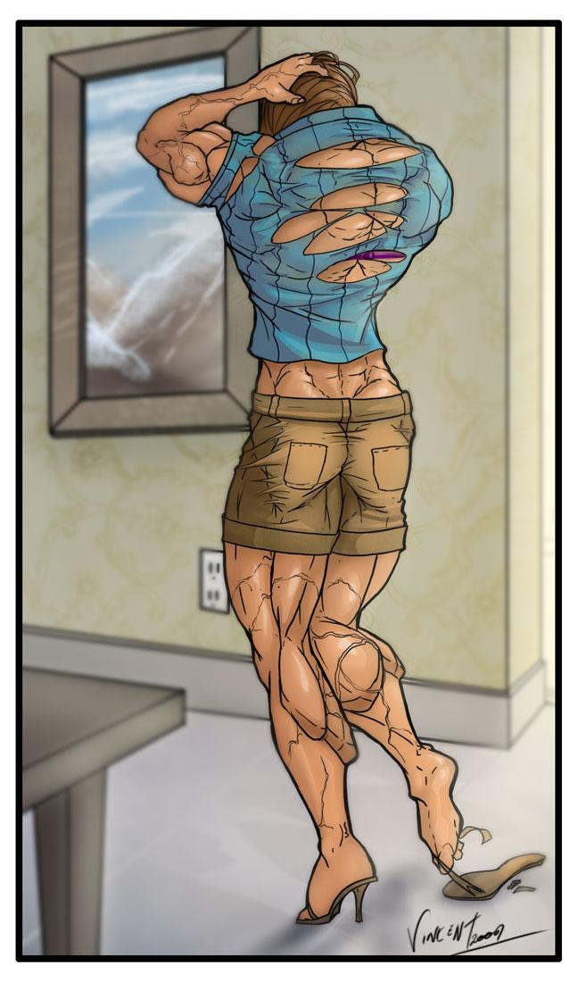 Female Muscle Growth Transformation - Cumception-9162