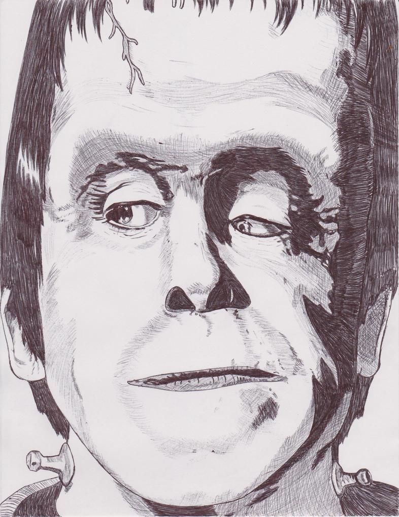 Herman Munster by nightcat17