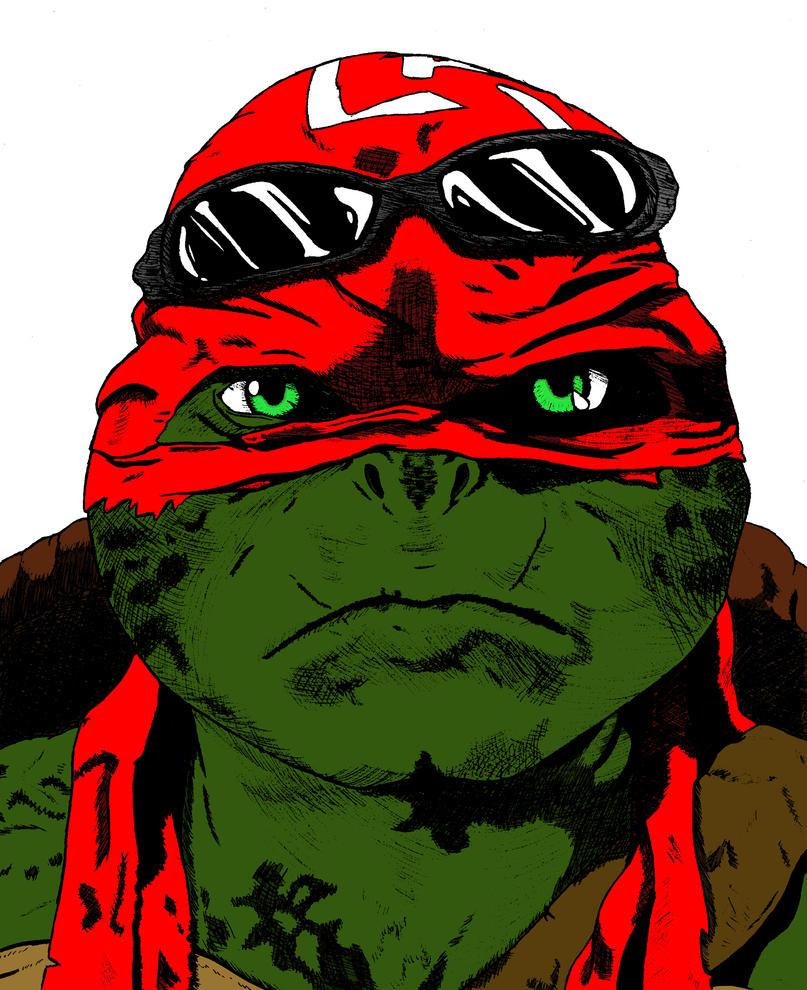 Red Raphael by nightcat17