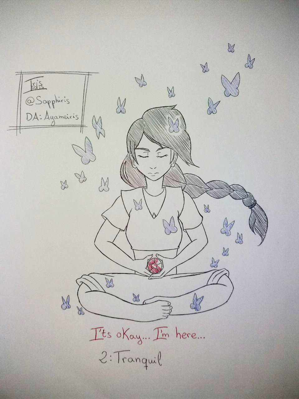 [Imagen: inktober_2018___2_tranquil_by_ayameiris-dcodc3a.png]