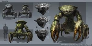 Crab monster Conceptual Art