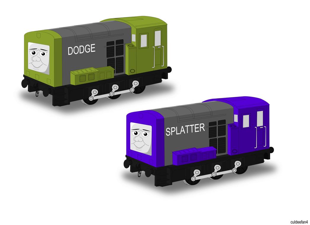 Dodge And Splatter By Culdeefan4 On DeviantArt