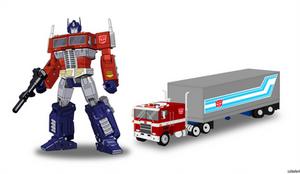 Optimus Prime Portrait