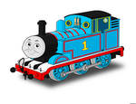 Thomas the tank engine Portrait