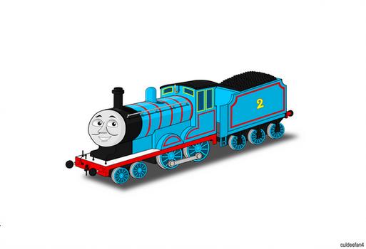 Edward the blue engine Portrait