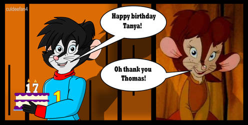 Happy Birthday Tanya