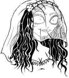 Corpse Bride by Shmivv