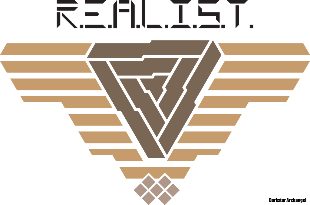 Unused: R.E.A.L.I.S.T - Logo Variant - Isowing by Darkstar-Archangel