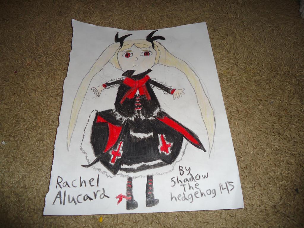 Rachel Alucard colored version by shadowthehedgehog145