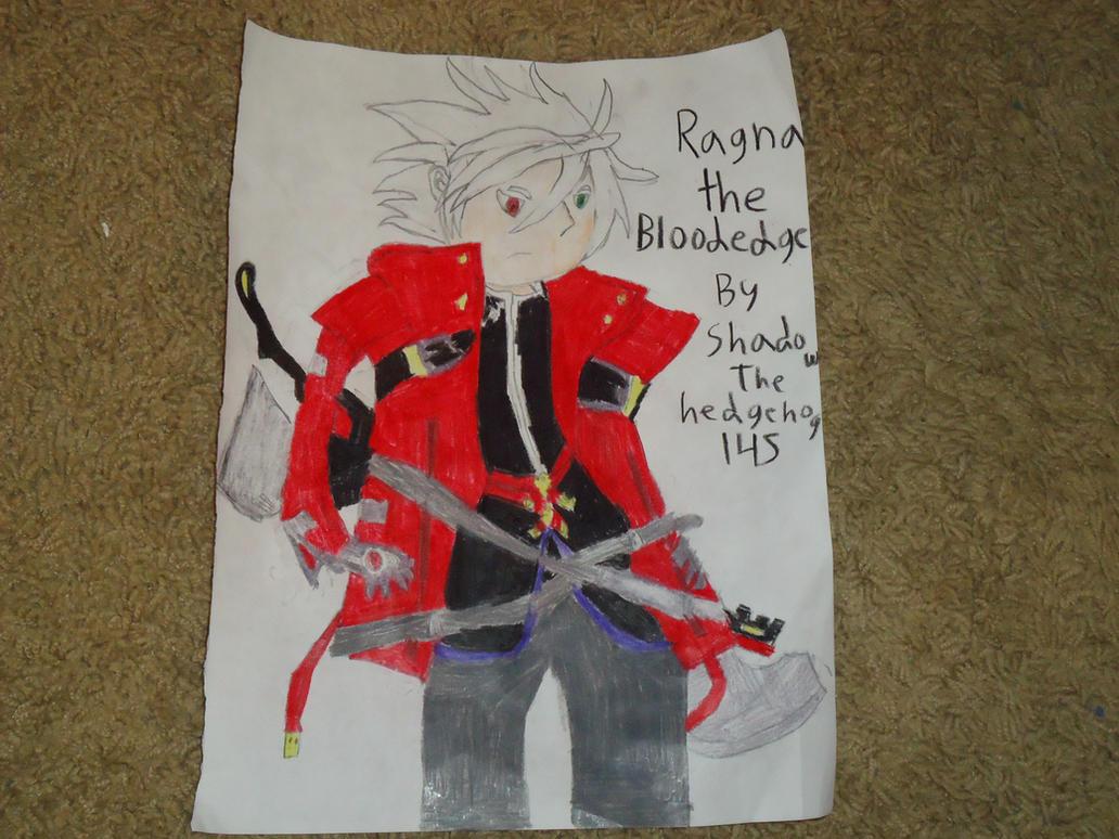 Ragna the Bloodedge by shadowthehedgehog145