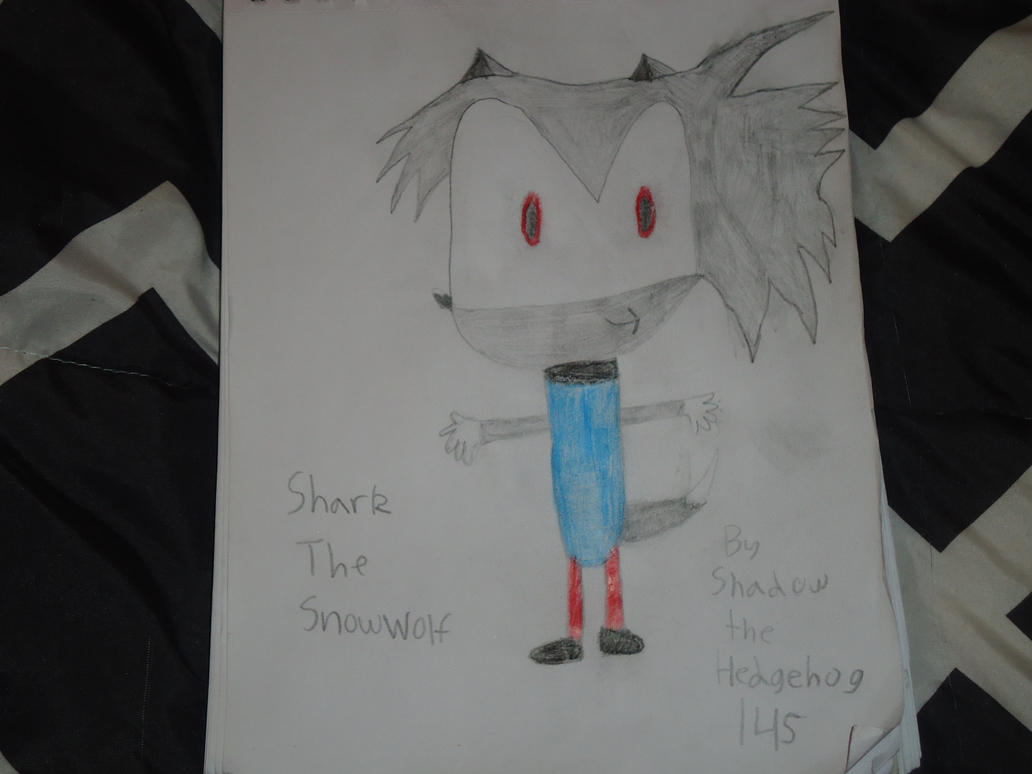 Shark The SnowWolf New Look Version Two by shadowthehedgehog145