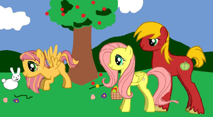 Big mac and fluttershy getting married