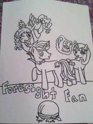 Fan of Foresight by MissSindy