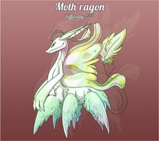 Aura Forge: Monster - Moth'ragon by Jackalune