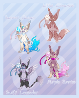 Masqling Adoptables - Set 1 [CLOSED] by Jackalune