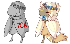 Spring Birdfolk YCH [CLOSED for now]