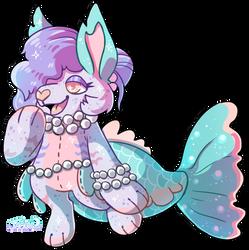 SC: Gift - Mermaid Plush by Jackalune