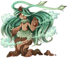 Lyth - Auction - Forest Crown (CLOSED) by Jackalune